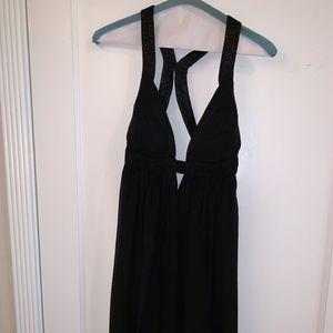Backless Black Cocktail Dress Size 0